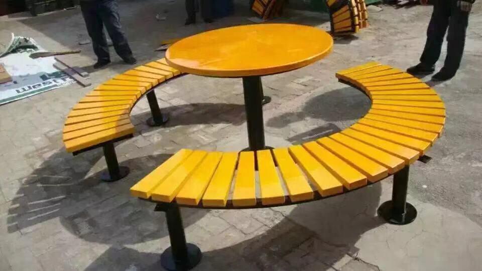 青岛公园椅|组合桌椅ZH-009