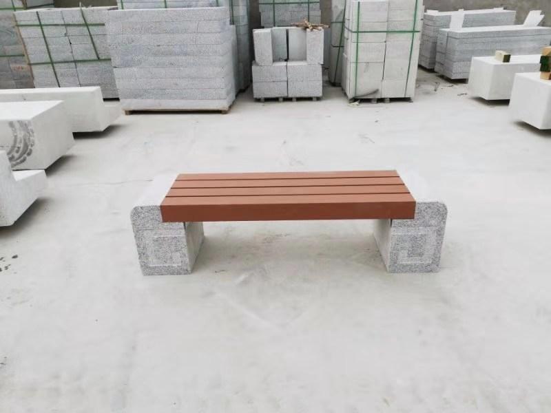 甘肃公园椅|石材座椅SC-008