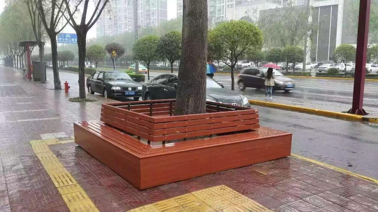 甘肃休闲椅|围树椅KW-005