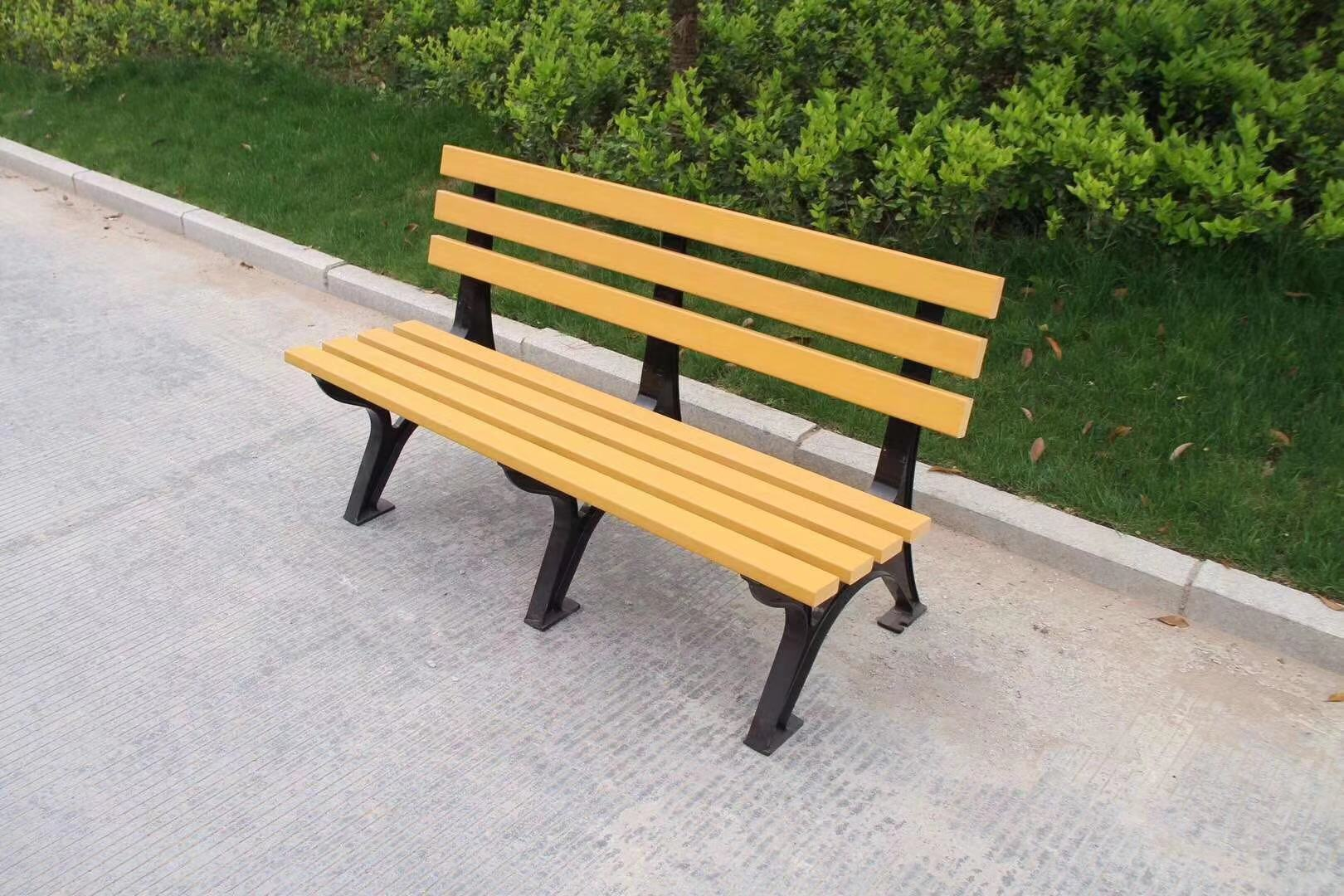 山东园林椅|靠背座椅KT-001A