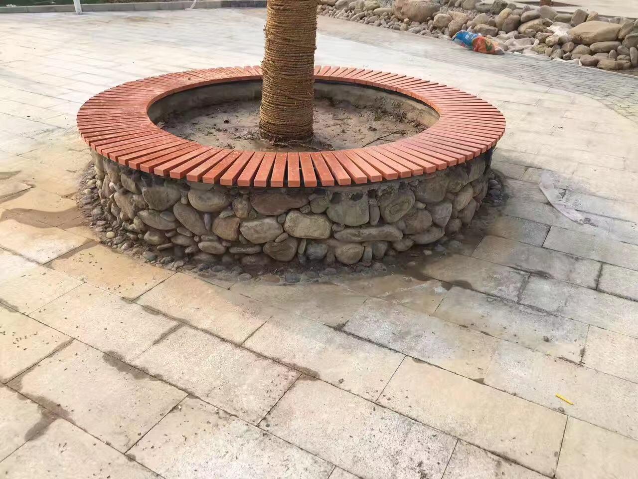 青岛园林椅|围树座椅PW-004