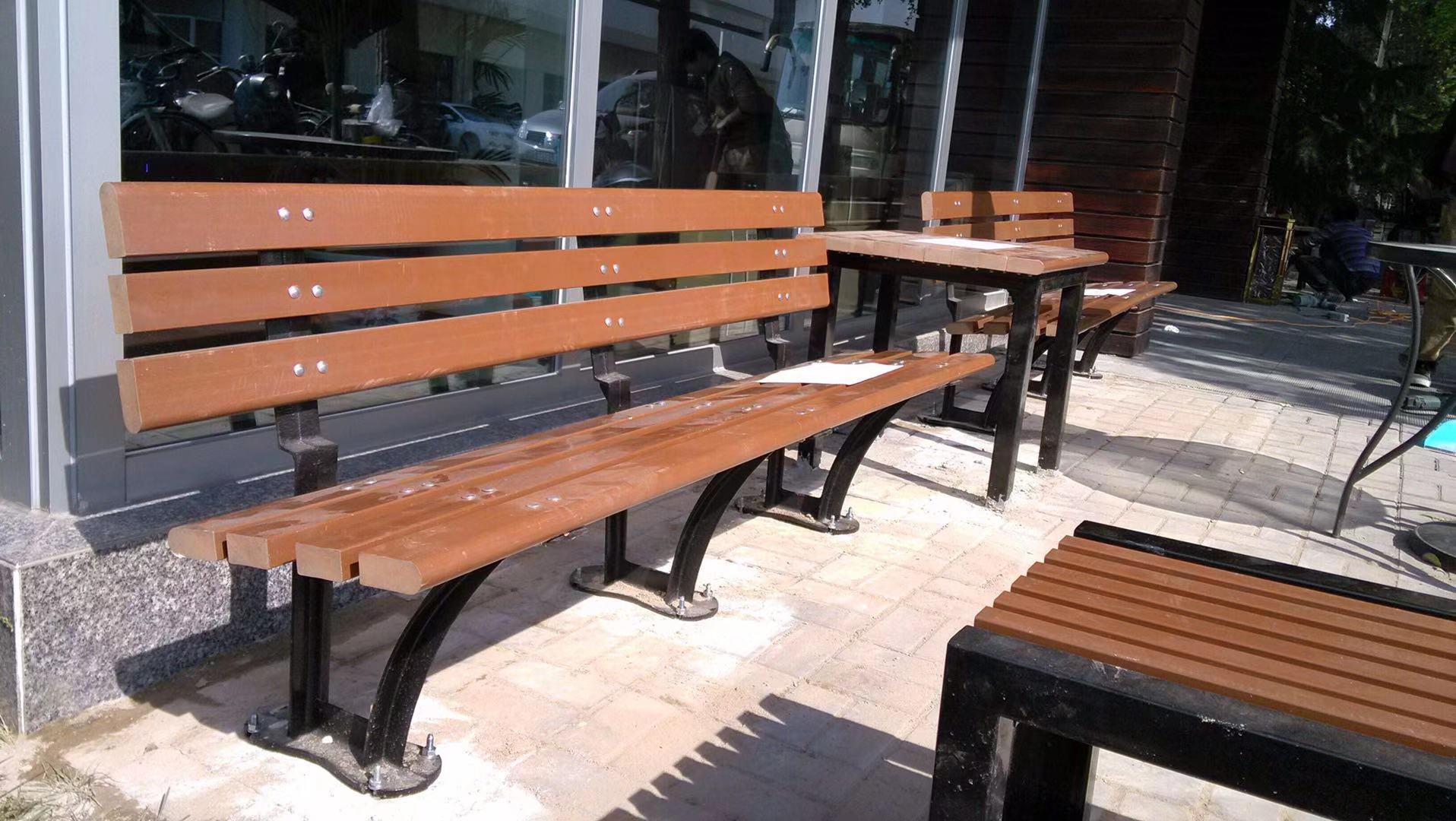 天津公园椅|组合桌椅ZH-012