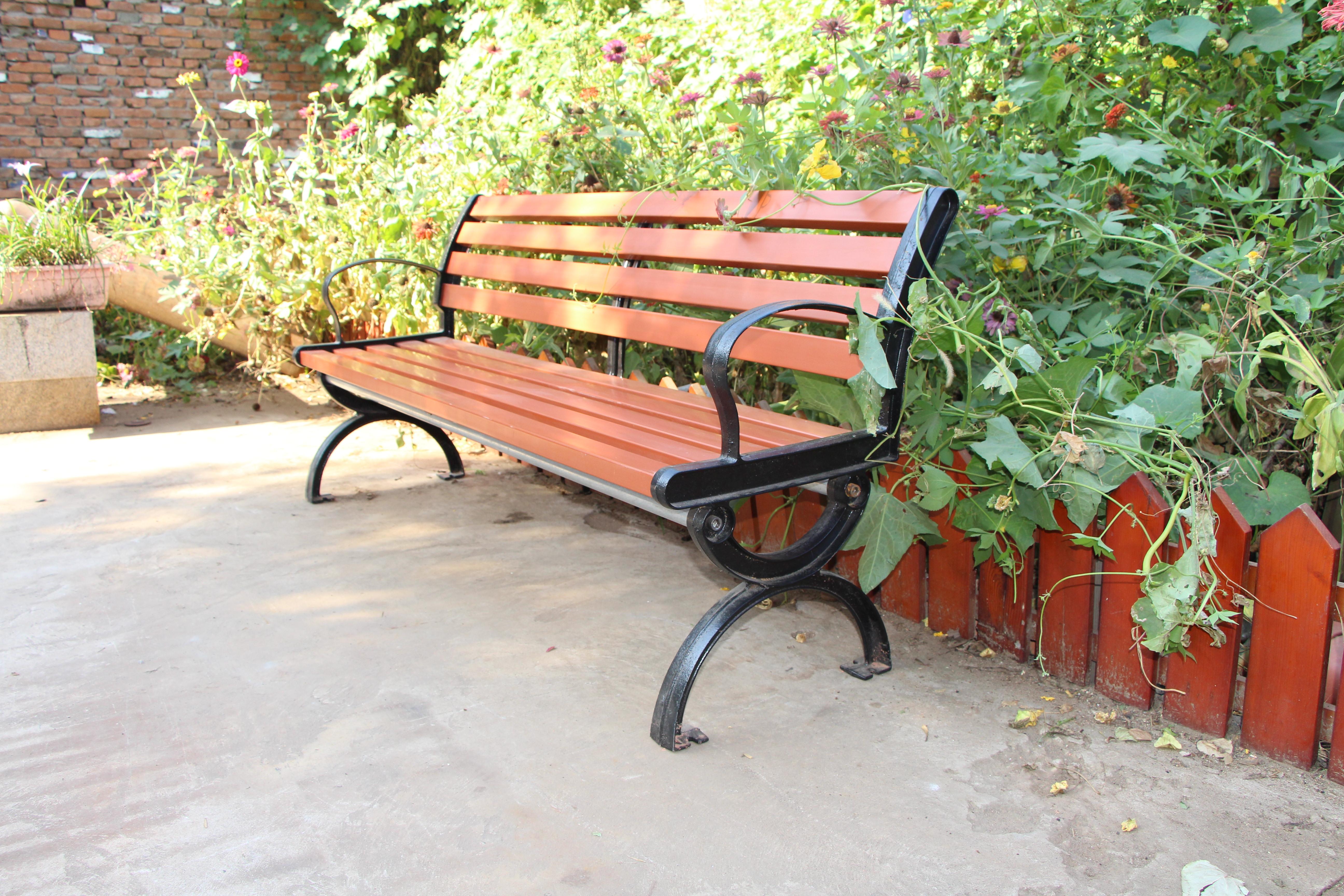 河南园林椅|靠背座椅KT-005小号