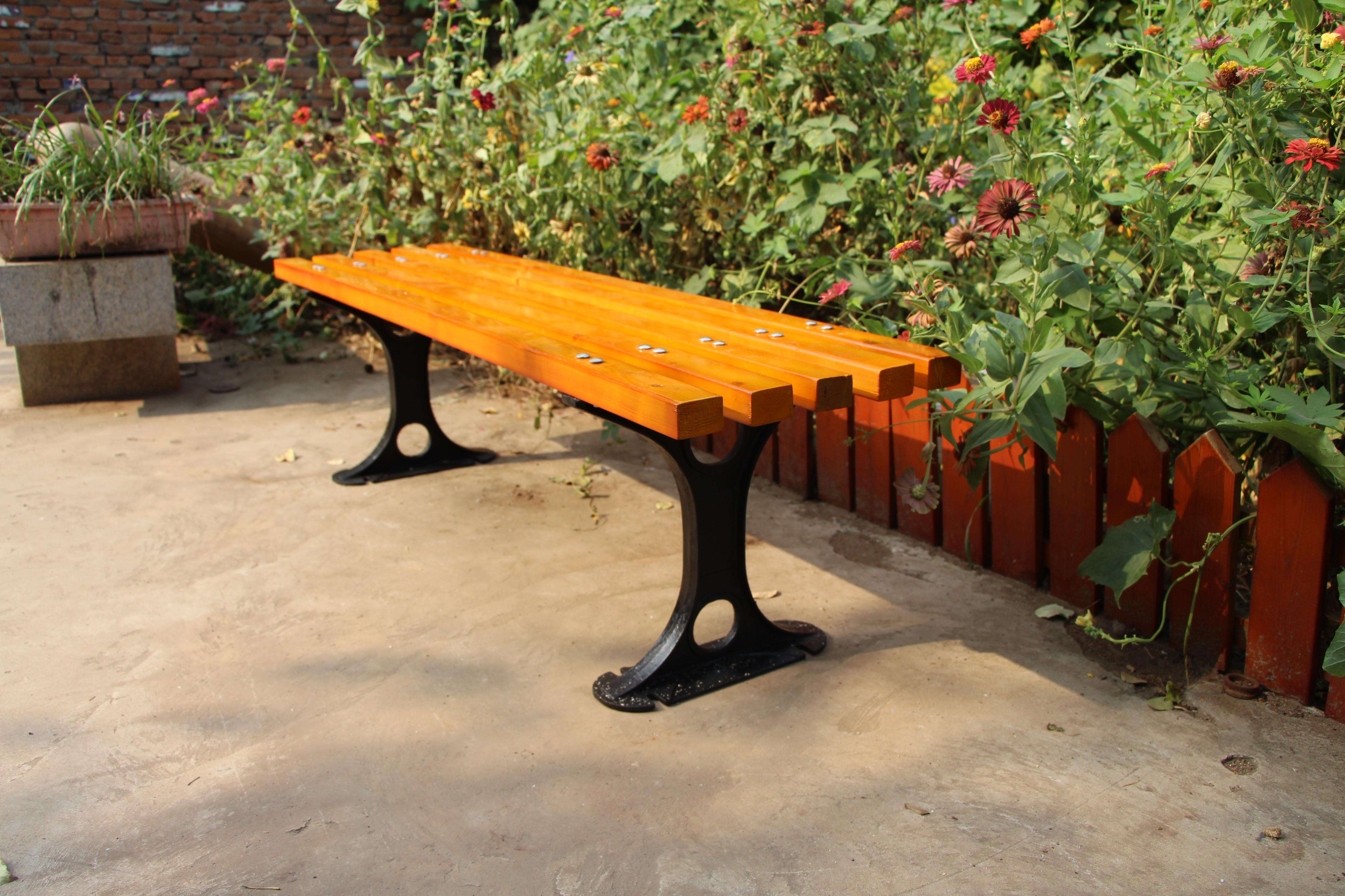 内蒙古休闲椅|公园平椅PT-001