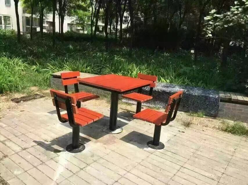 甘肃园林椅 组合桌椅ZH-004