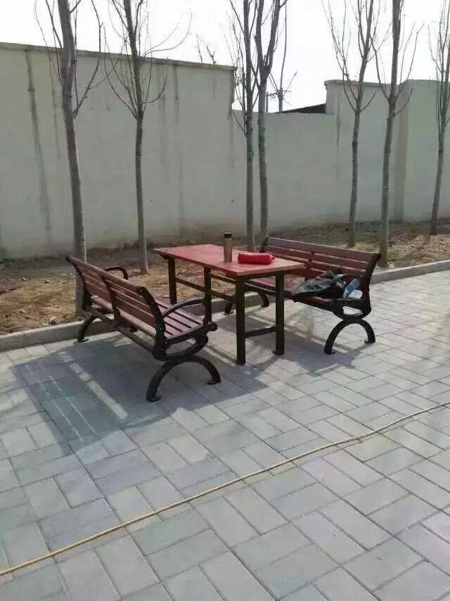 山西园林椅|组合桌椅ZH-011