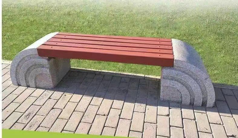 郑州园林椅|石材座椅SC-017