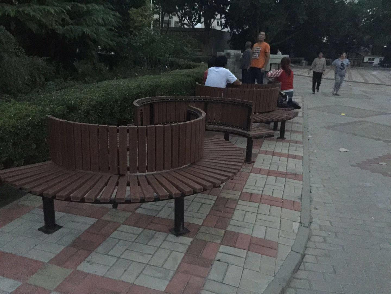 山东园林椅|围树椅KW-003
